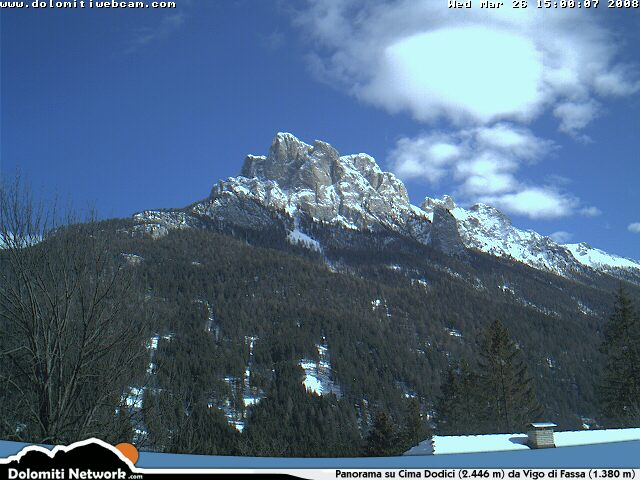 Cima Dodici webcam photo 2
