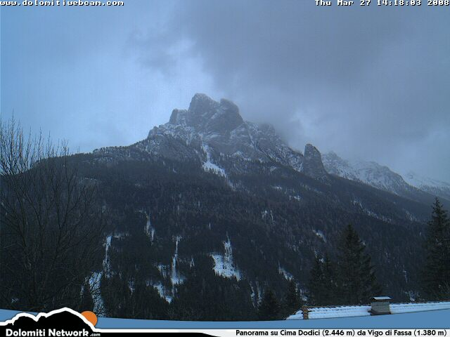 Cima Dodici webcam photo 5