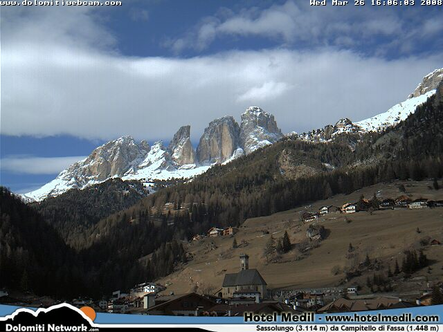 Campitello webcam photo 4