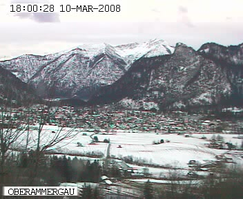 Oberammergau Webcam photo 1