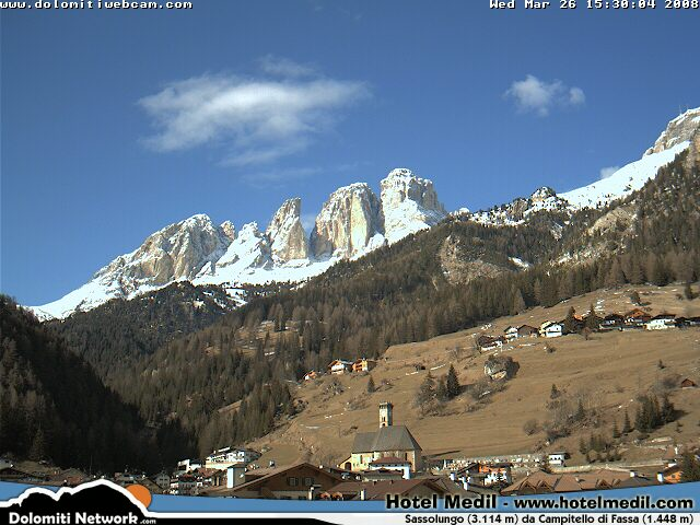 Campitello webcam photo 2