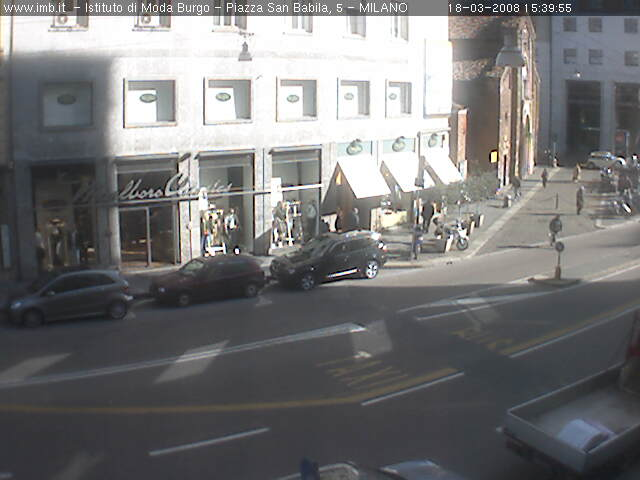 San Babila webcam photo 4