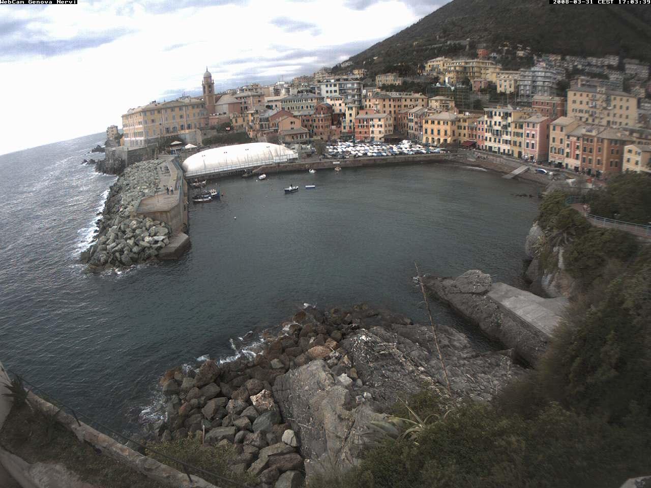 Webcam Genova Nervi photo 1