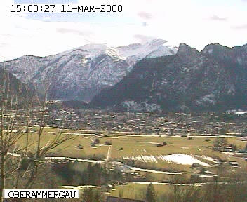 Oberammergau Webcam photo 3