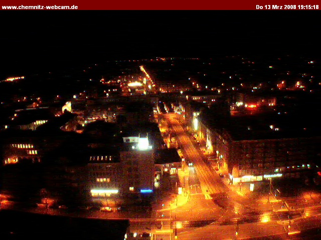 Chemnitz webcam photo 4