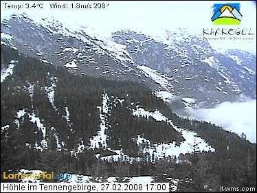 Webcam Cave Tennengebirge photo 1