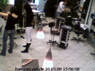 Hair concept webcam photo 1
