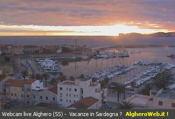 Alghero webcam photo 1
