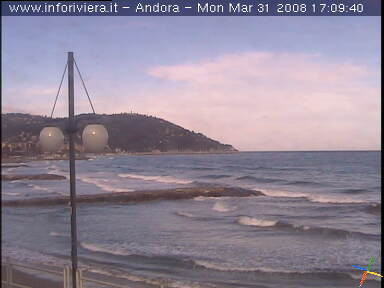 Andora Passeggiata webcam photo 1
