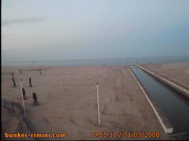 Bunker Rimini webcam photo 3