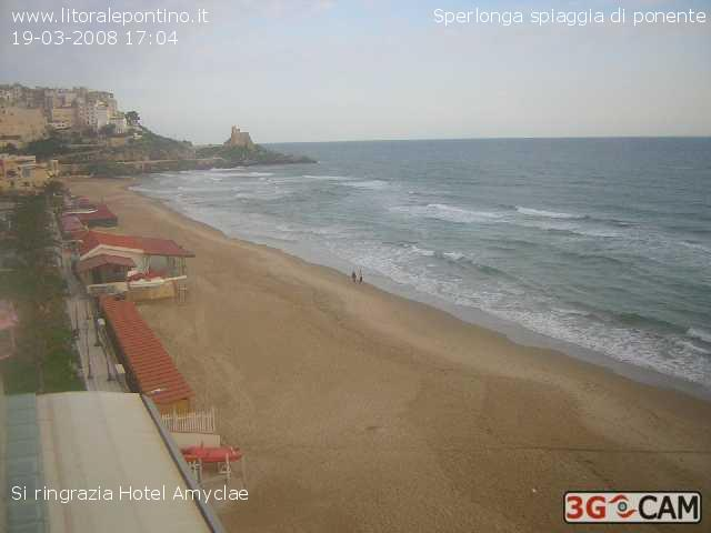 Sperlonga webcam photo 2