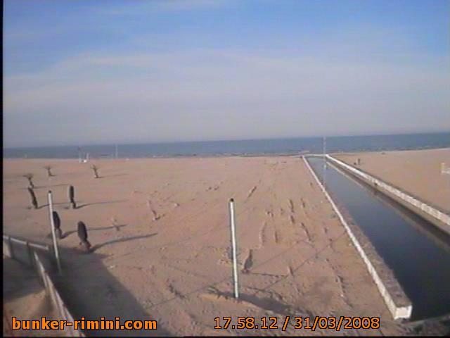 Bunker Rimini webcam photo 1