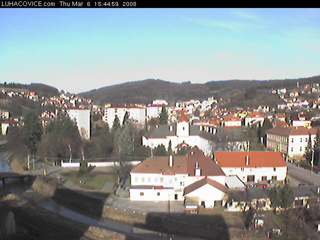 Luhacovice webcam photo 3