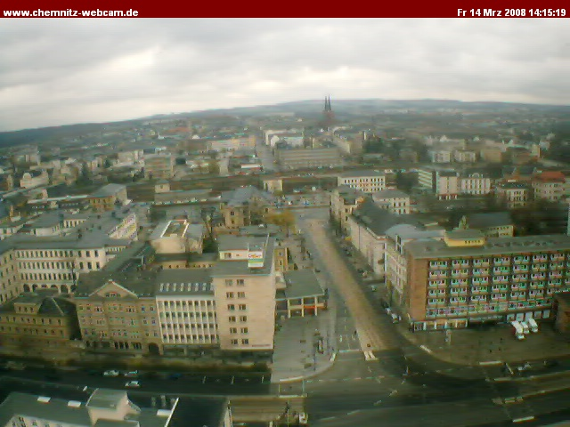 Chemnitz webcam photo 6