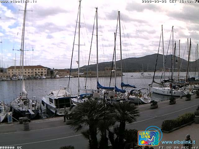 Calata Mazzini webcam photo 2