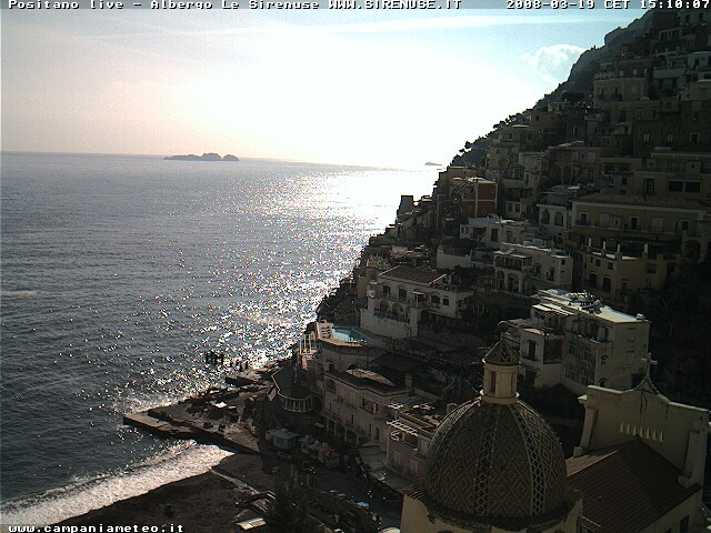 Positano  webcam photo 1