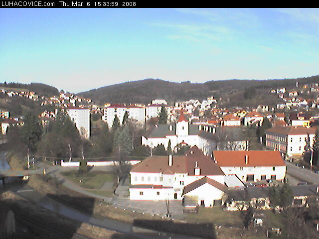 Luhacovice webcam photo 2