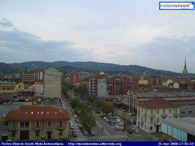 Torino city webcam photo 1