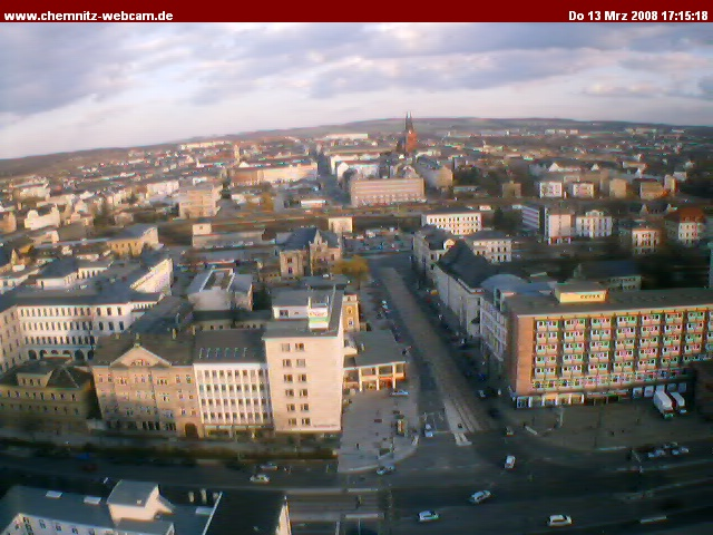 Chemnitz webcam photo 2