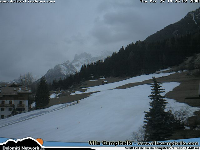 Col del Lin webcam photo 4