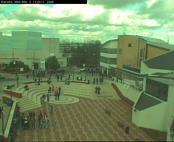 Warwick University Piazza photo 3
