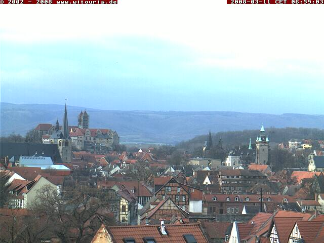 Quedlinburg webcam photo 1
