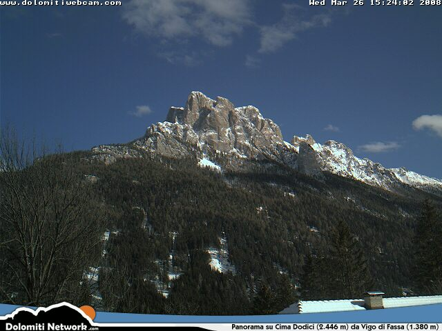 Cima Dodici webcam photo 4