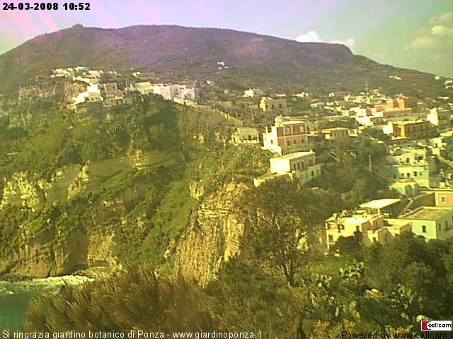 Ponza webcam photo 1
