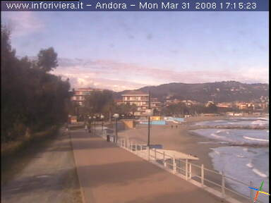 Andora Passeggiata webcam photo 2