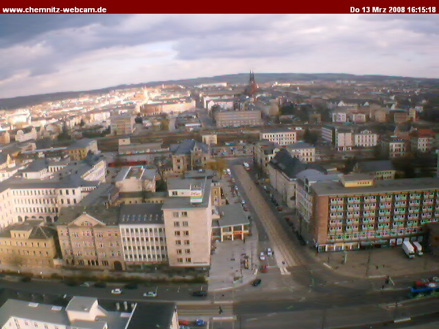 Chemnitz webcam photo 1