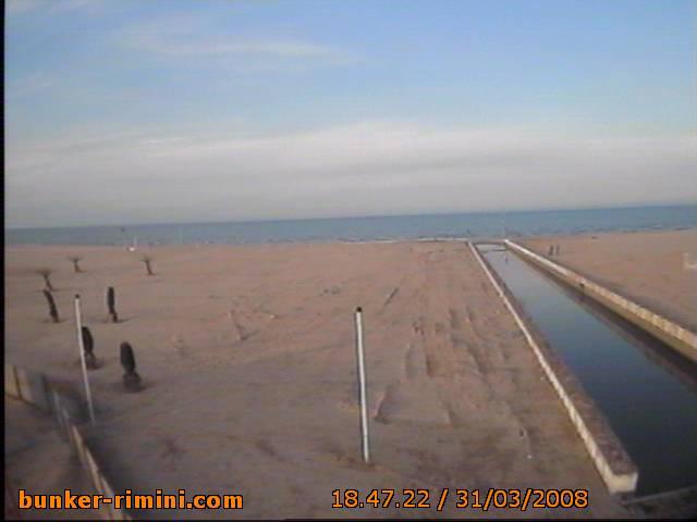 Bunker Rimini Webcam