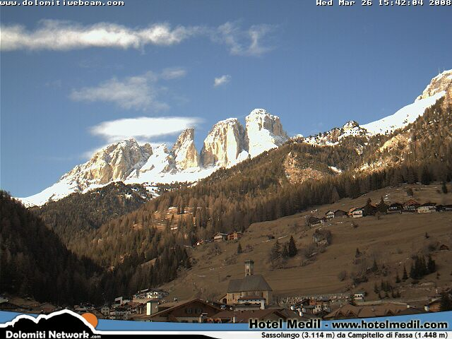 Campitello webcam photo 3