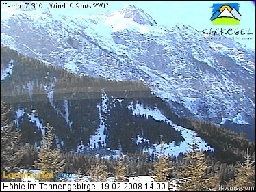 Webcam Cave Tennengebirge photo 5