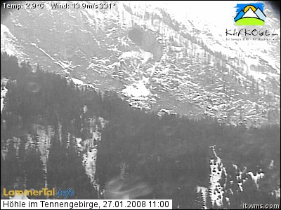 Webcam Cave Tennengebirge photo 2