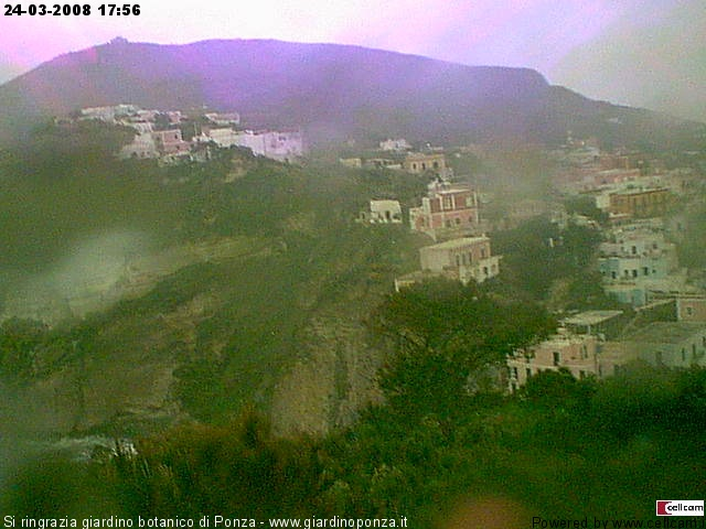 Ponza webcam photo 3