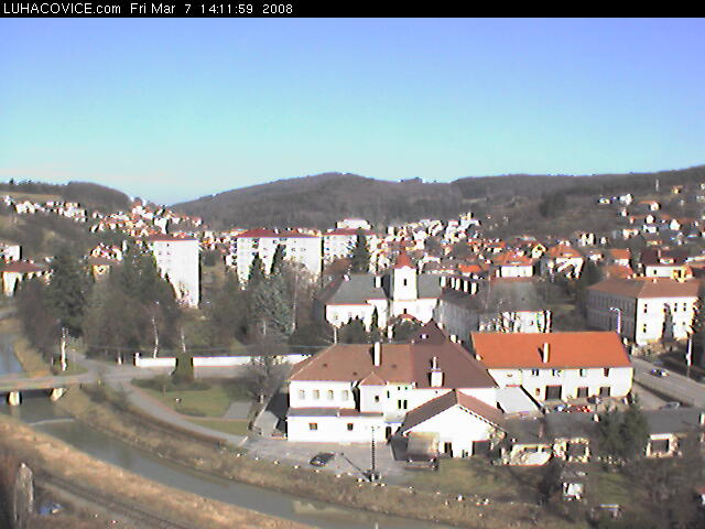 Luhacovice webcam photo 4