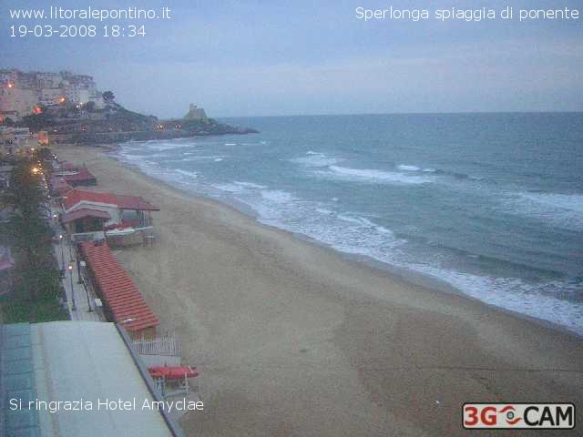 Sperlonga webcam photo 3
