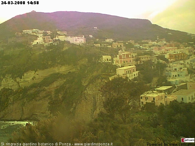 Ponza webcam photo 2