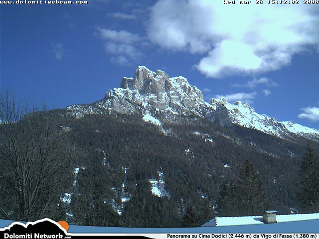 Cima Dodici webcam photo 3