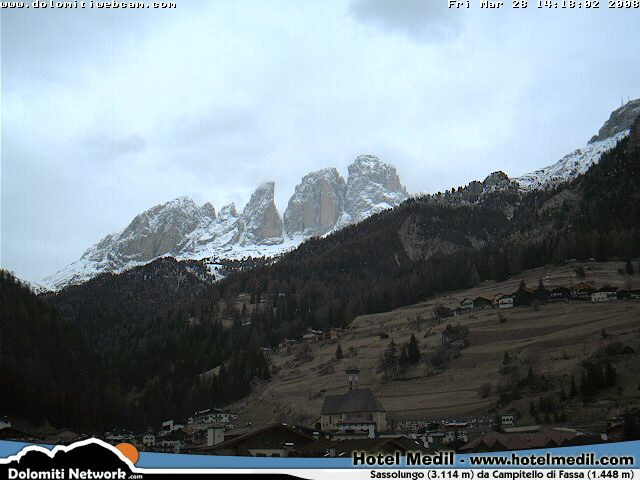 Campitello webcam photo 6