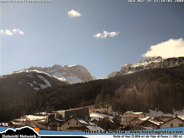 Vigo di Fassa  webcam photo 3