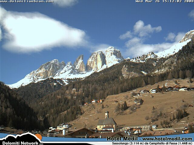 Campitello webcam photo 1