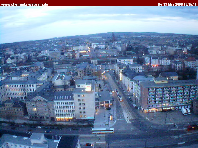 Chemnitz webcam photo 3