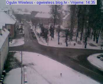 Ogulin webcam photo 3
