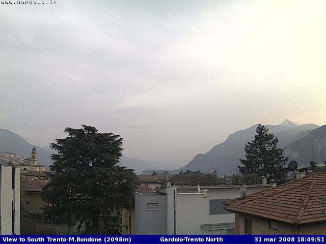 Trento webcam photo 1
