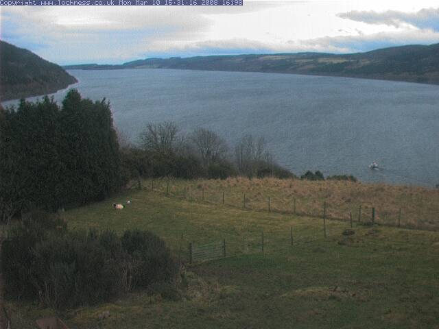 Loch Ness Cam photo 1