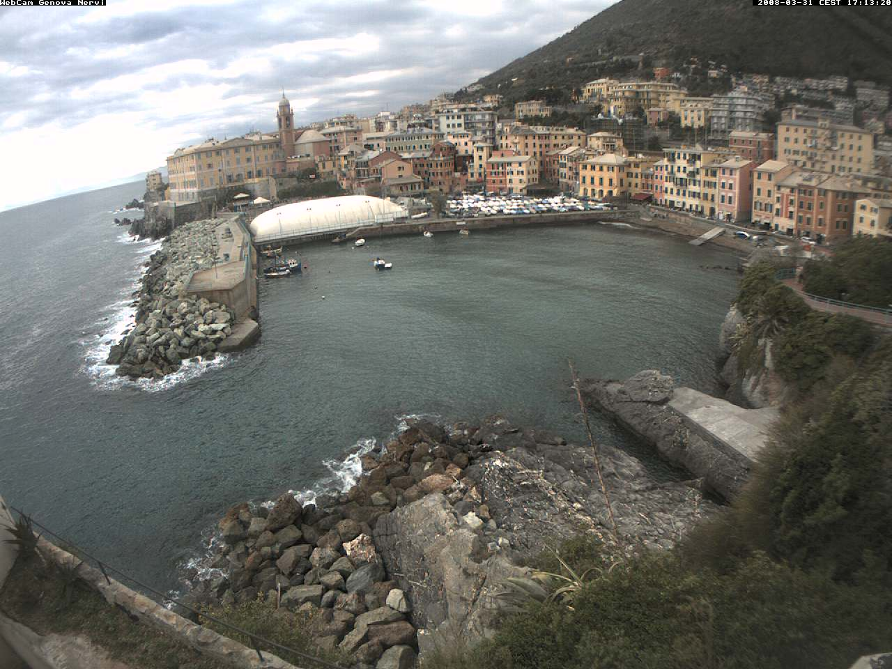 Webcam Genova Nervi photo 2