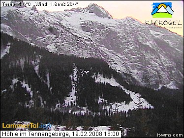 Webcam Cave Tennengebirge photo 6