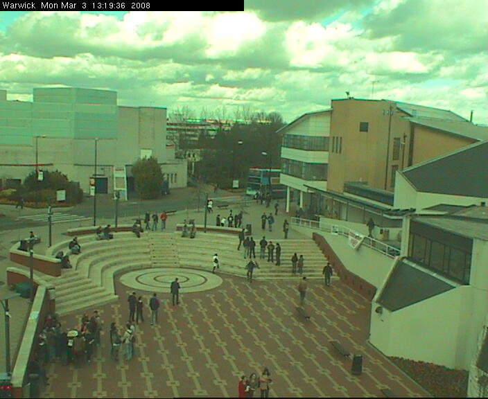 Warwick University Piazza photo 2