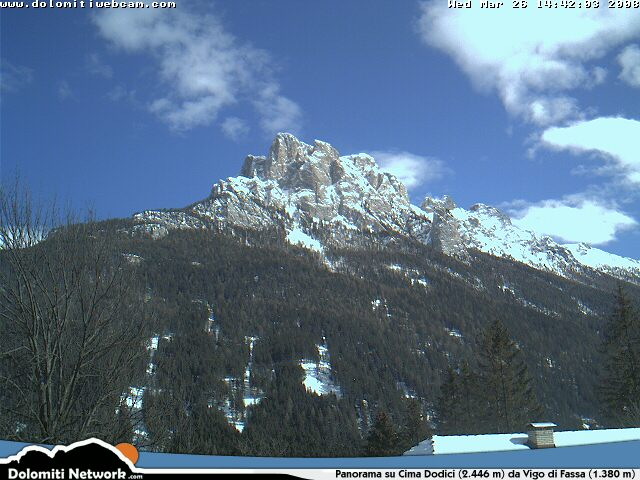 Cima Dodici webcam photo 1